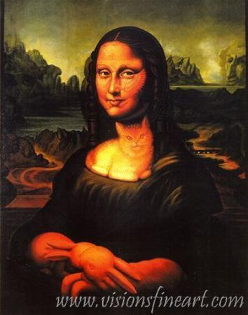 Mona illusion