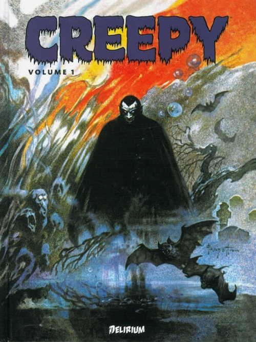 frazetta,illustrations,bande dessinée,bd,creepy