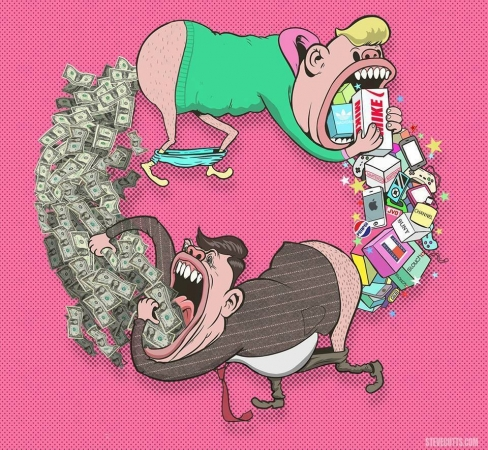 critique sociale, steve cutts