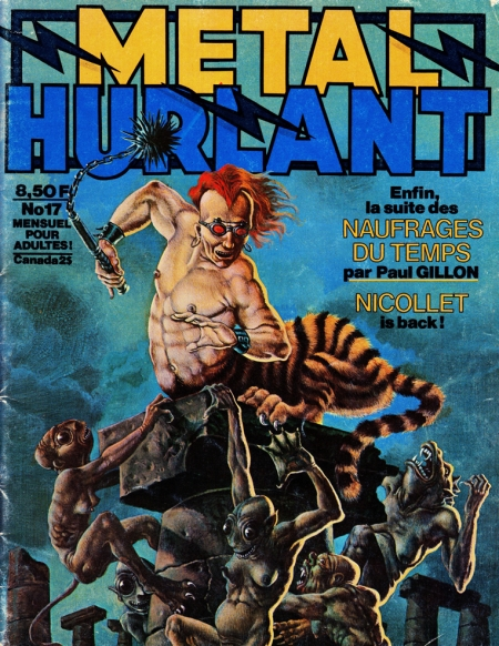 bd,mtal hurlant,moebius,druillet,major gruber