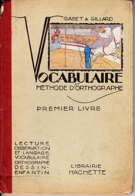 vocabulaire hachette