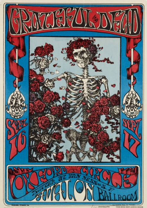 art,squelettes,skeletons,grateful dead,kelley & mouse