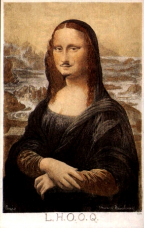 détournements,citations,joconde,mona lisa