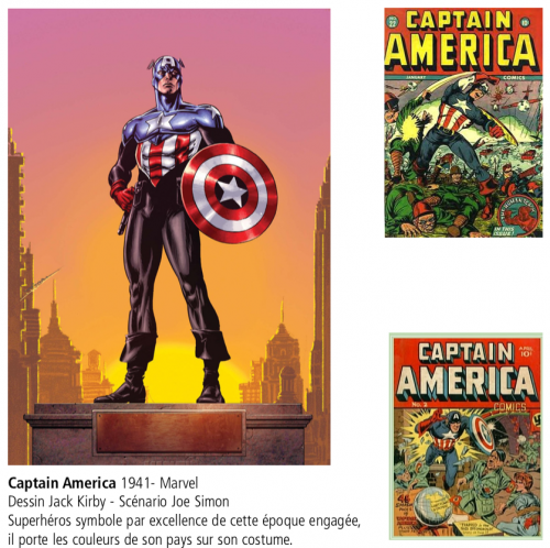 bd,comics,superhéros,captain america,jack kirby