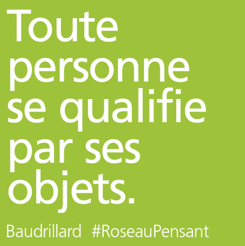 citation,baudrillard,roseau pensant