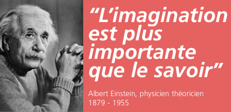 citation einstein imagination