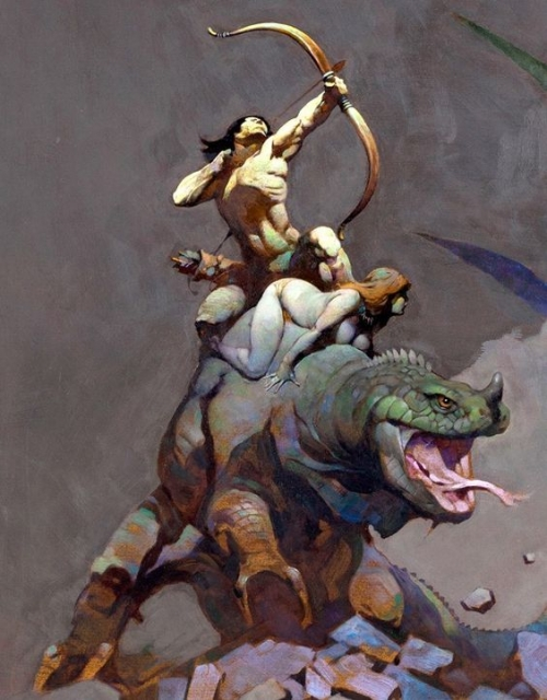 frazetta,illustrations,bande dessinée,bd,
