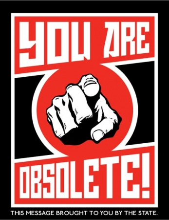critique sociale,humour,dessin,satire,you are obsolete