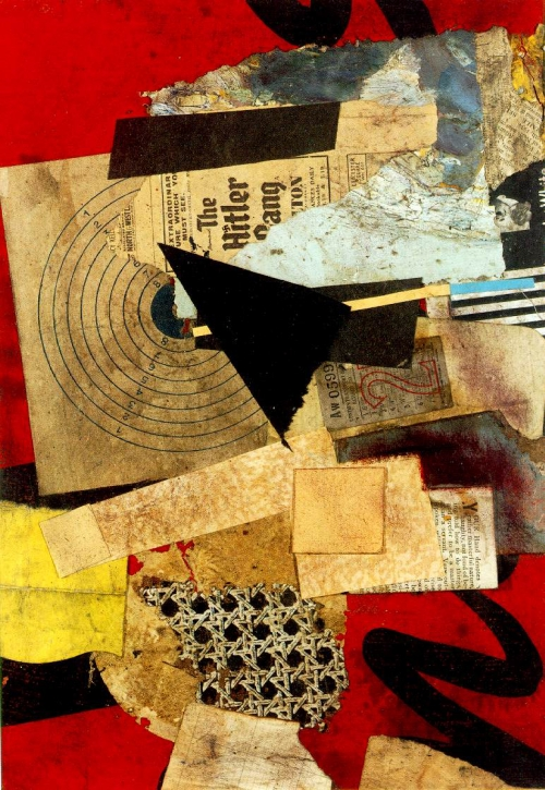 collage,dada,schwitters