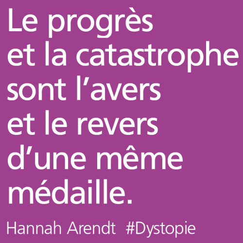 citation,critique progrès,arendt