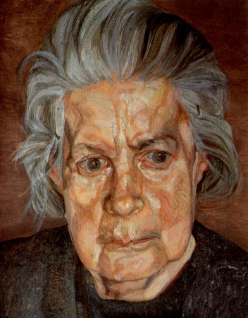 portraits,painting,lucian freud