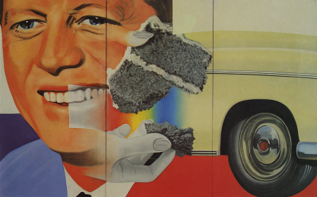 art,pop art,james rosenquist,president elect