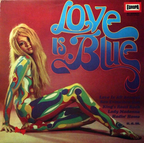 all you need is love, love is blue