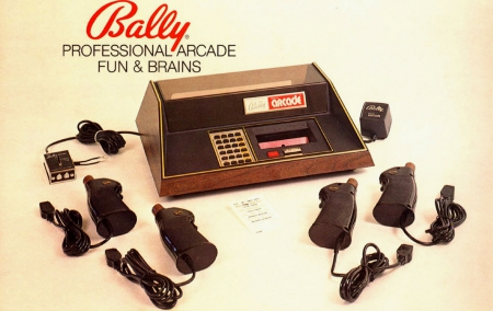 pub jeux video,bally arcade