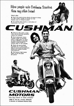 cushman,scooter