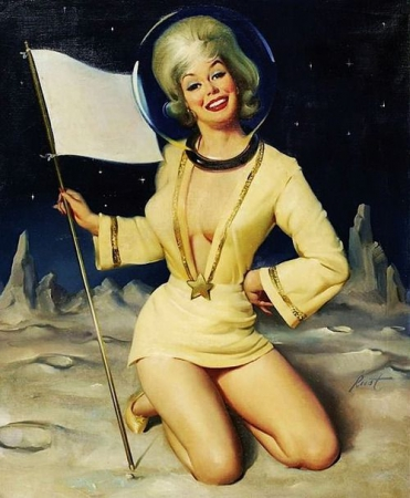 space girls,pin up spatiales