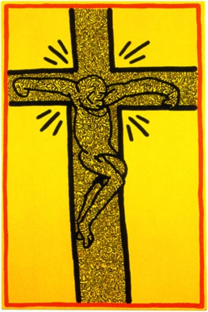 crucifixions,keith haring