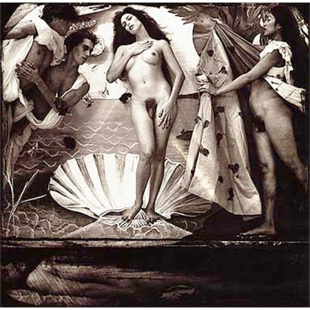 vénus,arte povera,surréalisme,witkin,figuration narrative,man ray,vénus restaurée,delvaux,vénus endormie,michelangelo pistoletto,vénus aux chiffons,david lachapelle,birth of venus