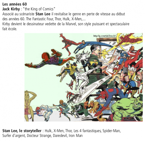 bd,comics,superhéros,jack kirby,stan lee
