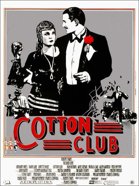 affiches,film cotton club