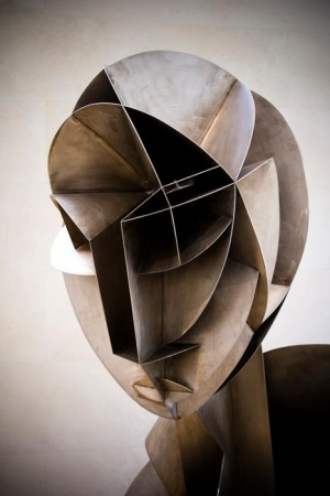 Naum Gabo - Constructed Head No. 2 , 1916.jpg