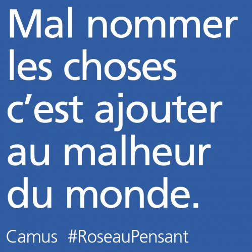 citation,camus,roseau pensant