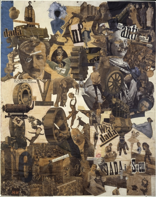 art,collages,dada,hannah höch