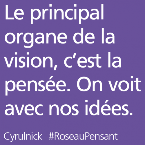 citations,roseau pensant,cyrulnick