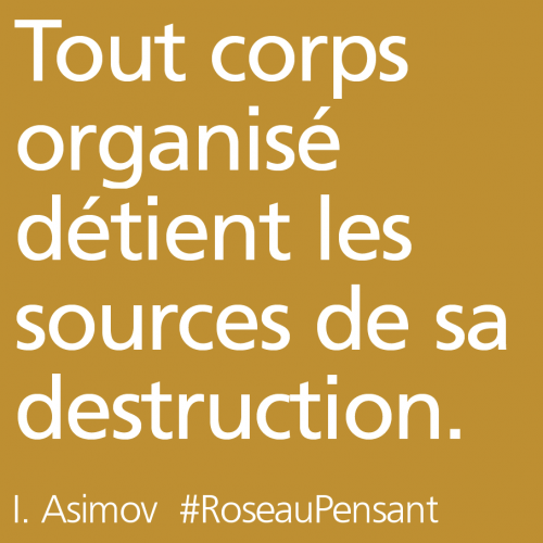 citation,asimov,roseau pensant