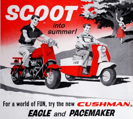 cushman,eagle,scooter