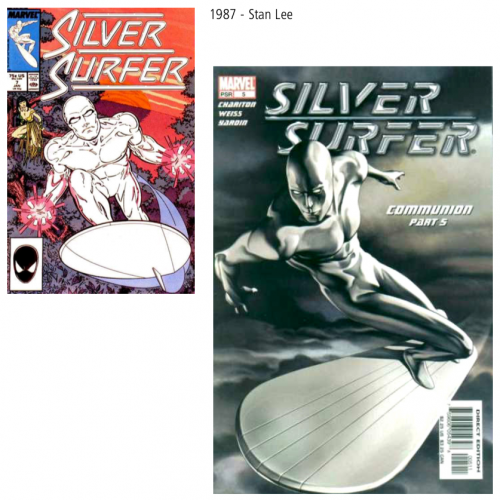 bd,comics,superhéros,silver surfer,stan lee