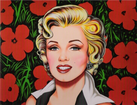 marylin,warhol,rotella,rancillac,pauline boty,the only blonde in the world