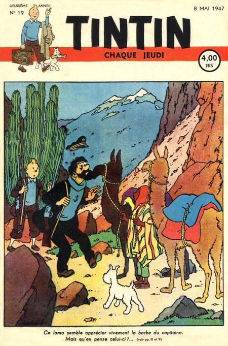Journal Tintin 1947