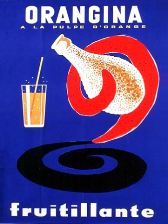 graphisme en france 1950-1960 villemot orangina