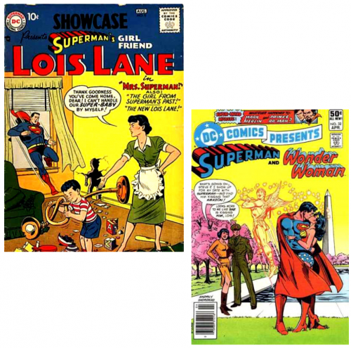 bd,comics,superhéros,superman,lois lane
