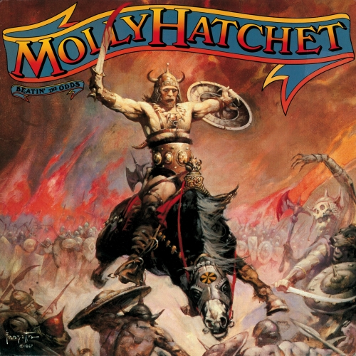 frazetta,illustrations,bande dessinée,bd,molly hatchet