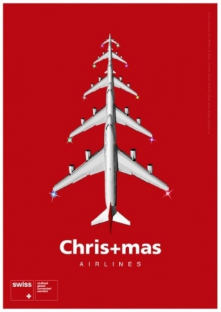 Swiss Airlines Christmas