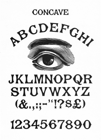typographie,typos période victorienne,victorian fonts