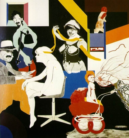 art,pop art,kitaj