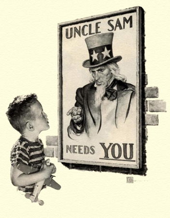 uncle sam,i want you