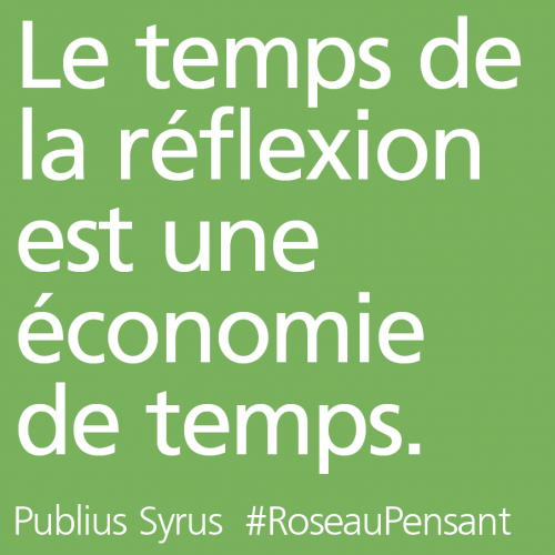 citation,publius Syrus,roseau pensant