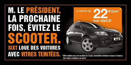 sixt hollande scooter