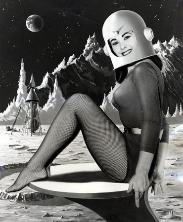 space girls,pin up spatiales,