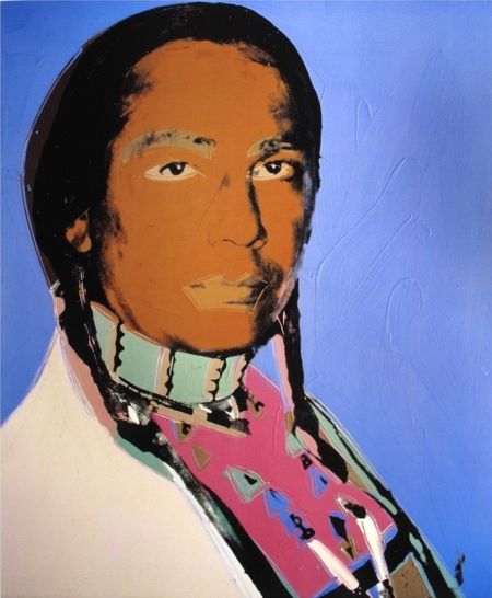 art,pop art,andy warhol,russell means,