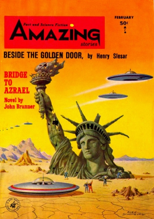 flying saucers amazing stories
