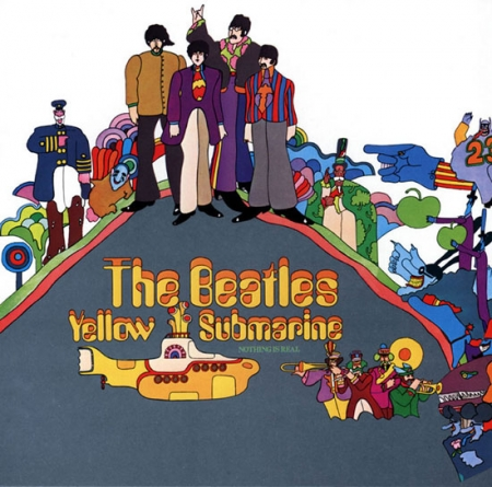 psychédélisme,pop,graphisme,illustration,edelmann,yellow submarine