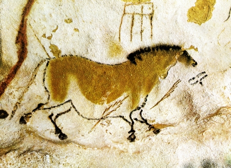 art,stylisation animale,lascaux