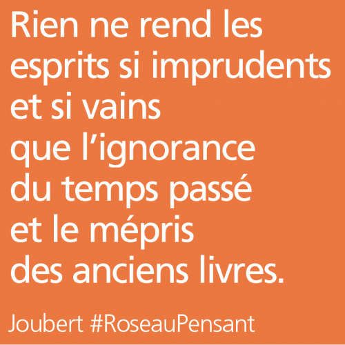 citation,citations,roseau pensant,joubert
