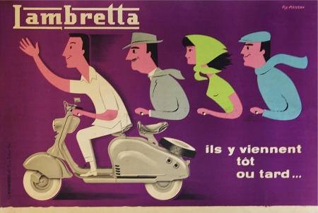 lambretta,scooter,fix masseau