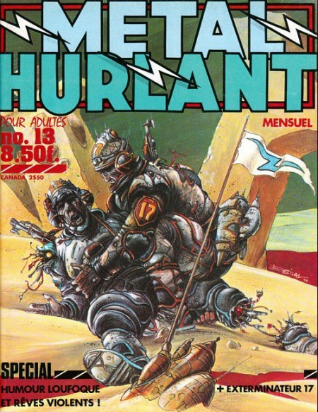 bd,bande dessinée,métal hurlant,comics,scifi,science fiction,bilal